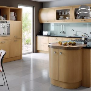 Euroline contemporary kitchen door