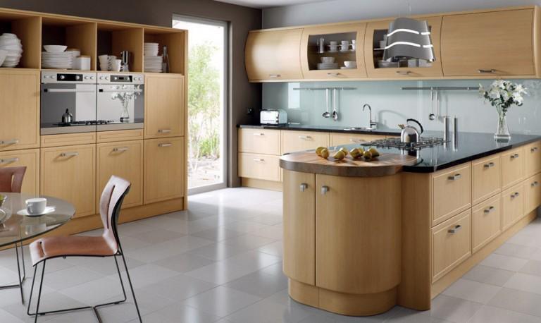 Euroline contemporary kitchen door