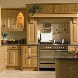 Gothic Classic kitchen door