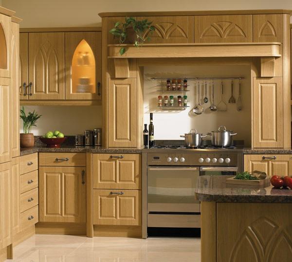 Gothic Classic kitchen door