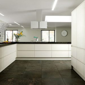 Knebworth contemporary kitchen door.