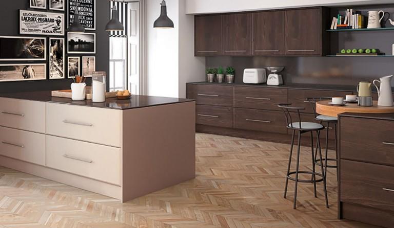Pisa contemporary kitchen door