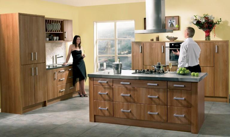 Rimini contemporary kitchen door