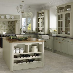 Tullymore contemporary kitchen door