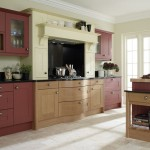 Broadoak painted Classic Grain Texture Cranberry