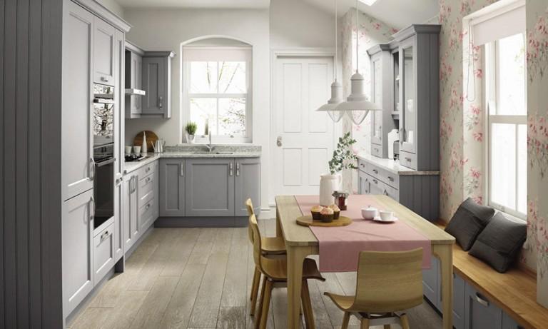 Mornington beaded Classic kitchen door