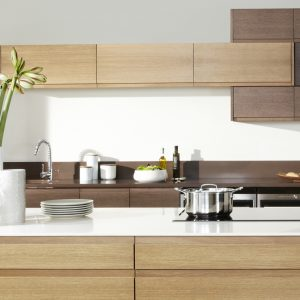 Malmo wood grain kitchen door