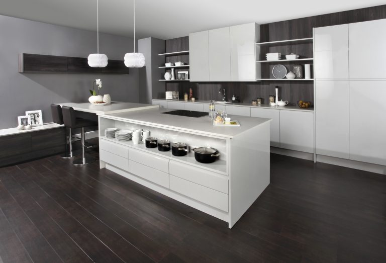 Isala contemporary kitchen door