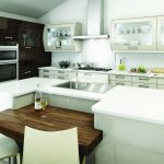Avant contemporary high gloss beige