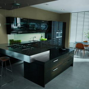 Avant contemporary kitchen door