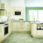 Avant contemporary high gloss ivory