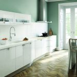 Avant contemporary high gloss white