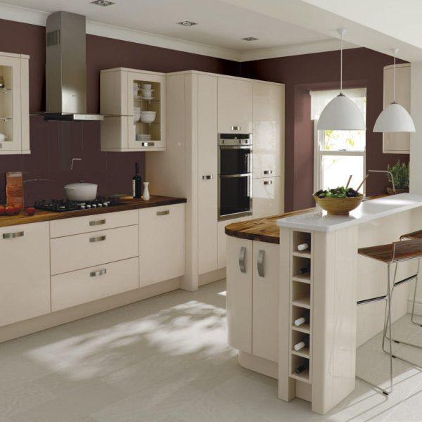 Porter contemporary kitchen door