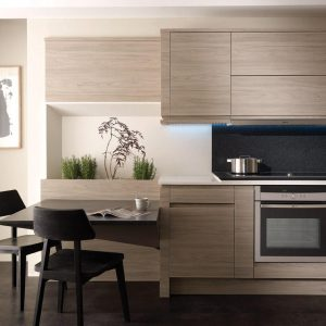 Remo wood grain kitchen door