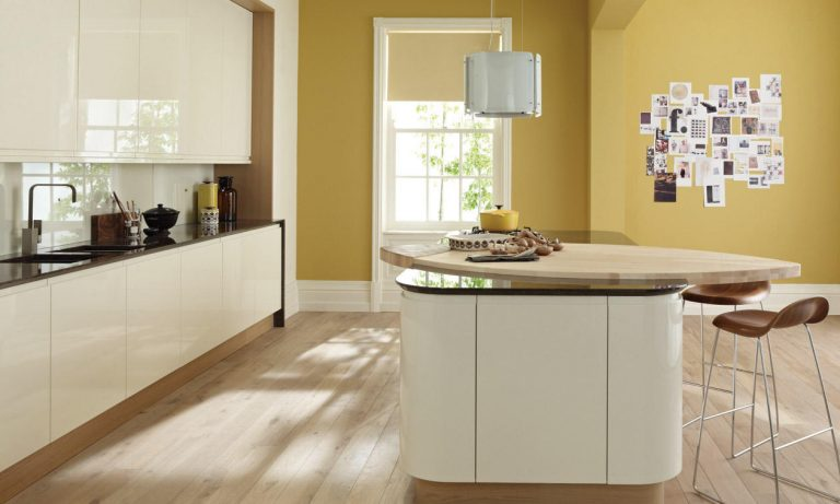 Remo contemporary kitchen door.