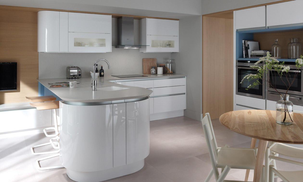 Tomba contemporary kitchen door. & Tomba Painted Contemporary Kitchen - Martha Mockford
