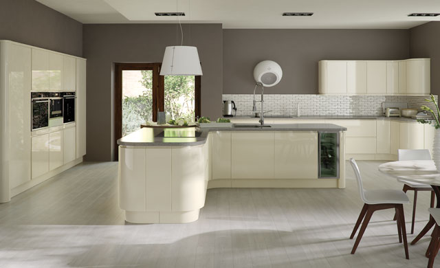 Strada contemporary kitchen door.