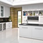 Ashford contemporary vinyl White