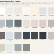 Burbidge Classic Colour palette