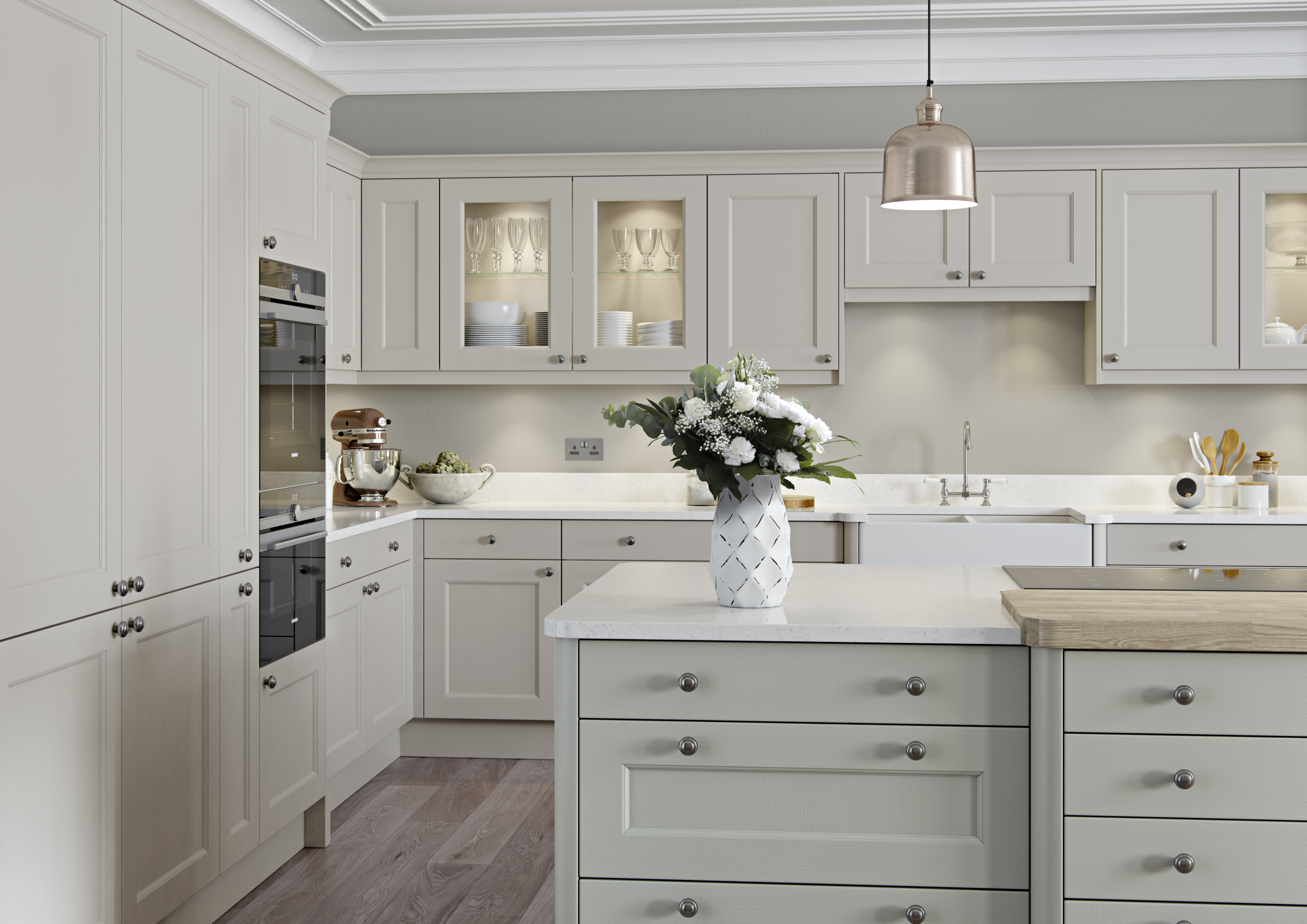 Ash Kitchen Cabinets Finsbury Painted Classic Kitchen Martha Mockford