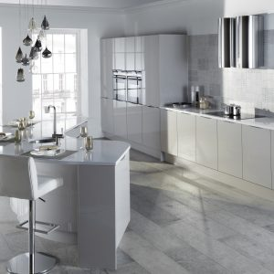 Otto contemporary kitchen door