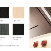 Kitchen Stori Stained door finishes