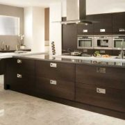 Tavola contemporary Stained Black Brown Ferrara