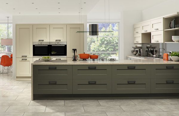 Windsor contemporary kitchen door