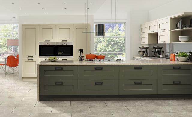 Windsor contemporary kitchen door