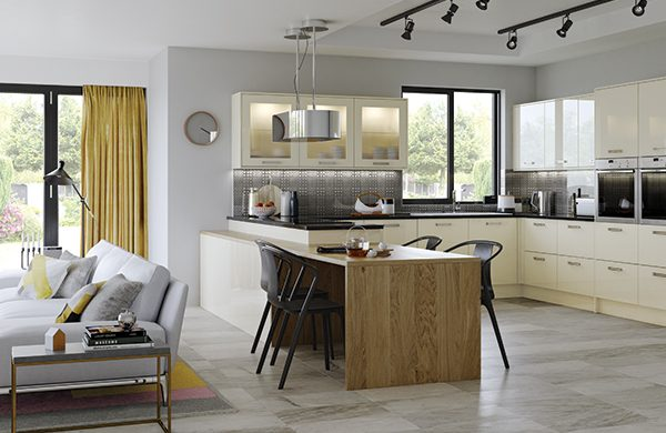 Zola contemporary kitchen door